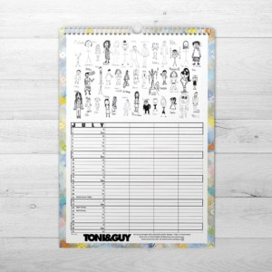 Organiser Black & White