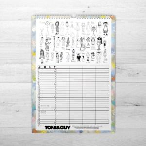 Organiser Black & White