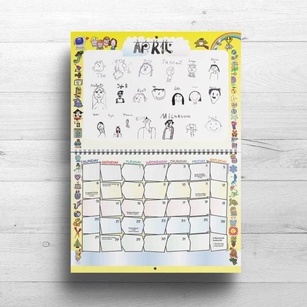 School Fundraising Calendars - www.wemakecalendars.com