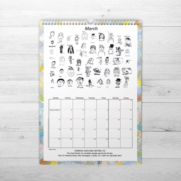 School Fundraising Calendar - We Make Calendars