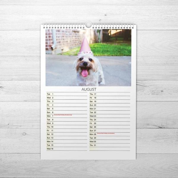 Pets Calendar - www.wemakecalendars.com