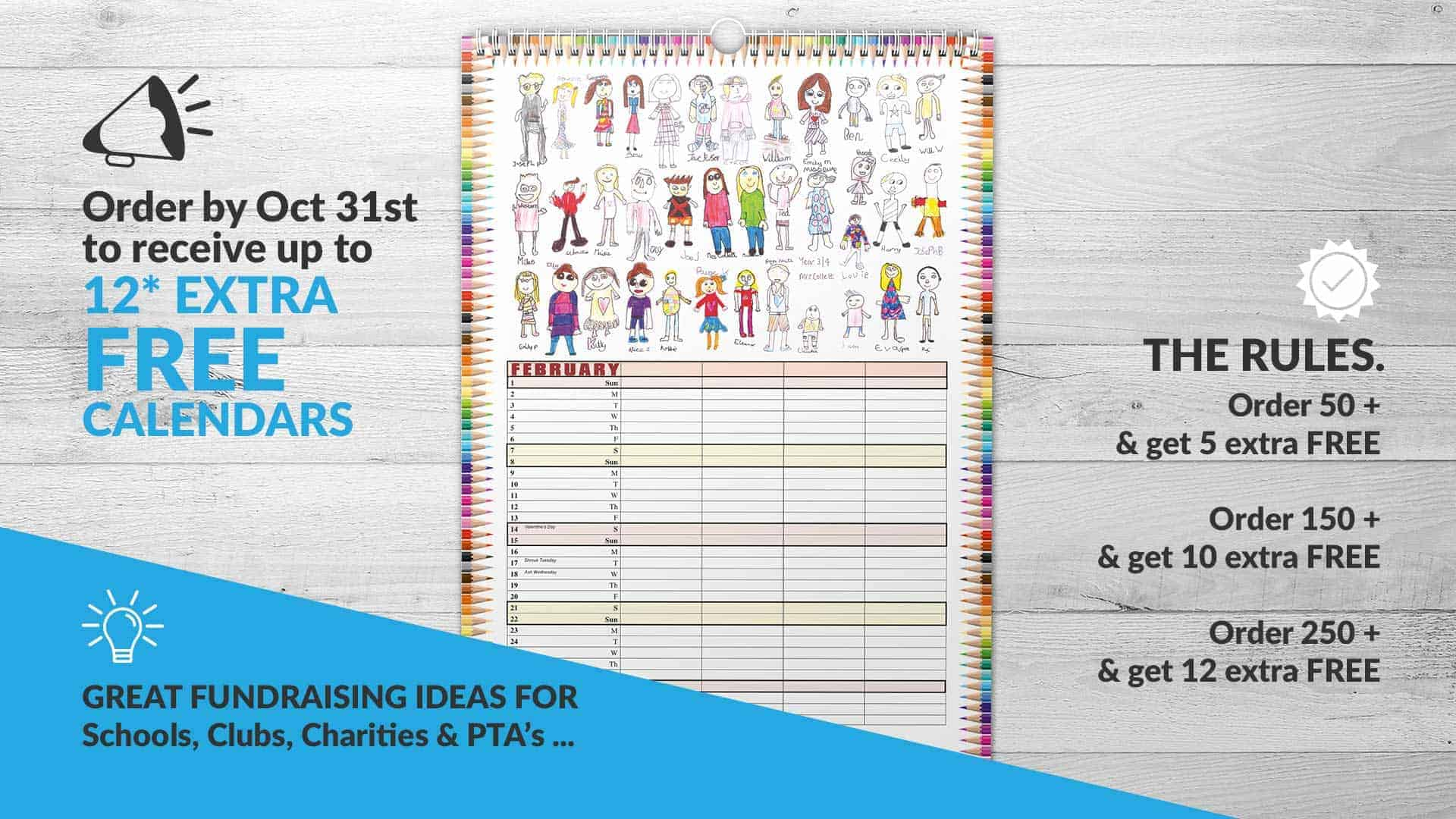 We Make Calendars - Fundraising Calendars, Business Promotion & Gifts